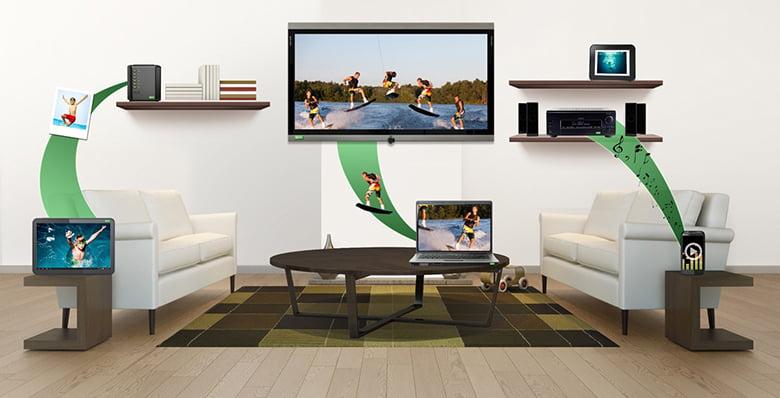 Cách chiếu màn hình điện thoại lên tivi qua DLNA